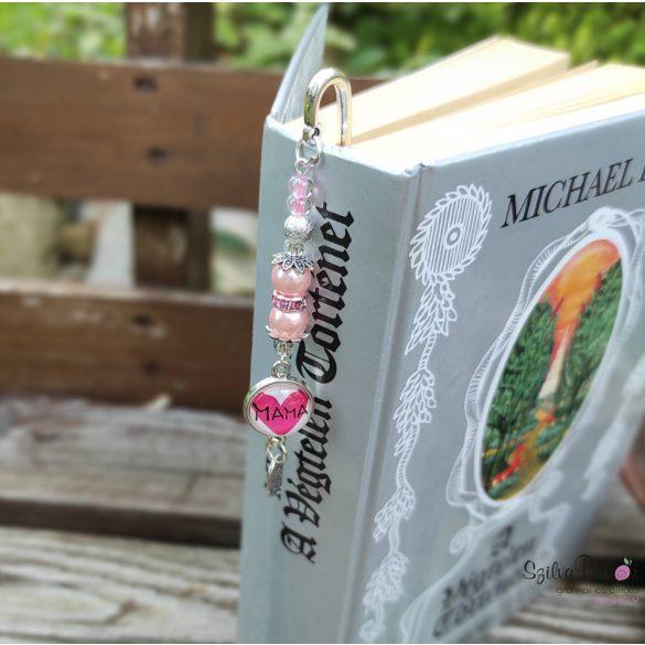 Madártollas KönyvÉkszer- rózsaszín