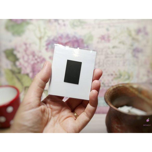 Szív fém medál mágneses ajándékkártyával